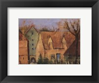Framed French Farmhouse II