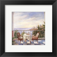 Terrace View 1 Framed Print