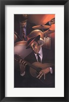 Jazz City 3 Framed Print