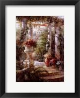 Framed Garden Urn I
