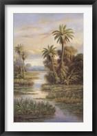 Framed Island Serenity II