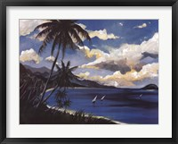 Framed Caribbean Paradise