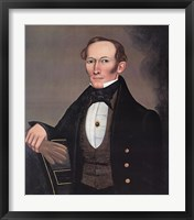 Framed Mr. Pearce, c. 1835