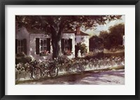 Framed Edgartown Lane