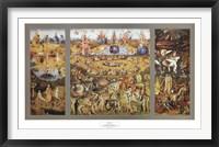 Framed Garden of Delights c. 1480