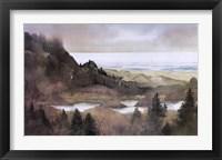 Framed Oregon Coast, 1985