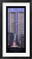 Framed World Trade Center