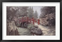 Framed Crimson Bridge