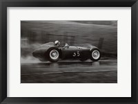 Grand Prix of Belgium, 1955 Framed Print