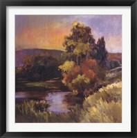 Framed River's Edge II