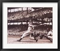 Framed Joltin' Joe DiMaggio