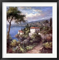 Villa Flora Two Framed Print
