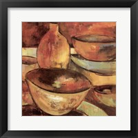 Framed Glazing Pots I