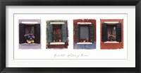 Framed Windows of Burano