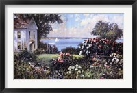 Framed New England Garden