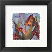Tropical Fish I Framed Print