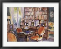 Framed Salon de Lecture