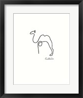The Camel Framed Print
