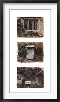 Framed English Cottages