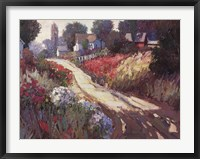 Spring Lane Framed Print