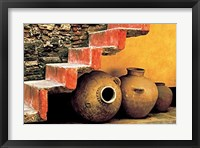 Framed Old Water Vessels