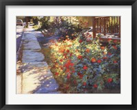 Mainstreet Morning Framed Print