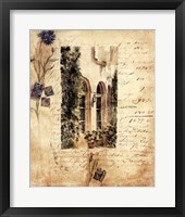 Country Wildflowers I Framed Print
