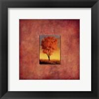 Framed Ashburn Tree