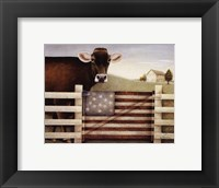 Proud Gate Framed Print