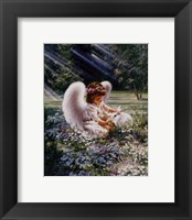 An Angels Care Framed Print