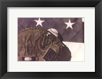 Framed America's Pastime
