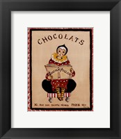 Chocolats Framed Print