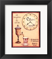 Cafe Societe Framed Print