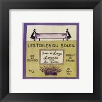Framed Les Toiles Du Soleil