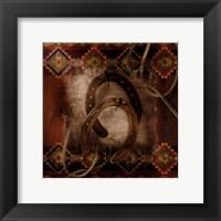 Framed Western Horseshoe