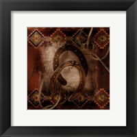 Western Horseshoe Framed Print