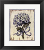 Summer Bouquet Of Blues II Framed Print