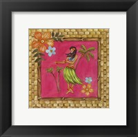 Tiki Girl IV Framed Print