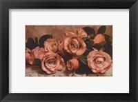 Framed Dusty Rose