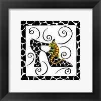 Shoe Gecko Framed Print