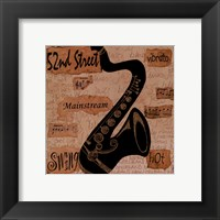 52nd Street Sound Framed Print