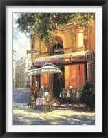 Framed Cafe Tente de Verre
