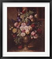 Framed Renaissance Floral