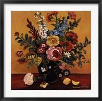 Framed Flowers I