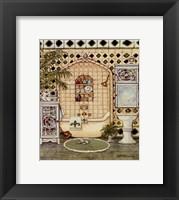 Elegant Bath IV Framed Print