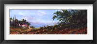 Lakeside Vine Framed Print