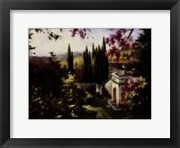 Framed Mystic Garden II
