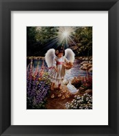 Caring In My Father's Garden Framed Print
