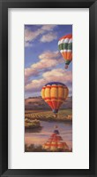 Balloon Panel II Framed Print