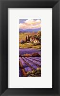 Fields Of Lavender I Framed Print